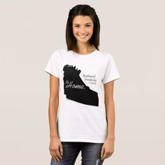 My Home Northwest Territories Canada Black T-Shirt - black gifts unique cool diy customize personalize