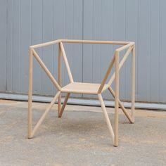 M3 Chair, 2011, by Thomas Feichtener via fabriziorollo.com
