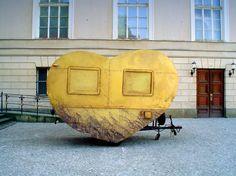 Wohnwagen mit Herz