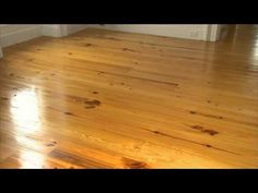 Tung Oil Finish on Pine Floors: P. Allen Smith Classics