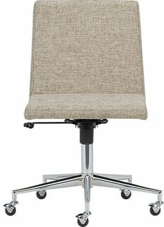 CB2 Jones Natural Office Chair on shopstyle.com