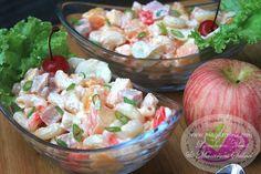 Luncheon Meat & Macaroni Salad Recipe | Filipino Dessert Recipes by PingDesserts.com