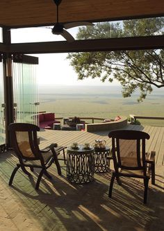 Angama Mara is a new safari lodge, balanced on the rim of Africa's Great Rift Valley, overlooking Kenya's Maasai Mara. Kenya Travel, Africa Travel, Ibiza, Trekking, New Safari, Out Of Africa, Outdoor Living, Outdoor Decor, Tent Living
