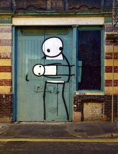 Graffiti goes wild, steals other graffiti.  Graffiti? What are you doin'? Graffiti.. Stahp.