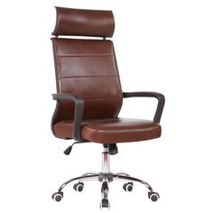Cultivate elegant style in your office space with the Charlize Adjustable Office Chair from Porthos Home. The adjustable height and chrome base allow you to customize the chair to your particular need