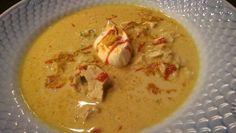 Mulligatawny Mulligatawny, Lchf, Cheeseburger Chowder, Thai Red Curry, Soup, Ethnic Recipes, Soups