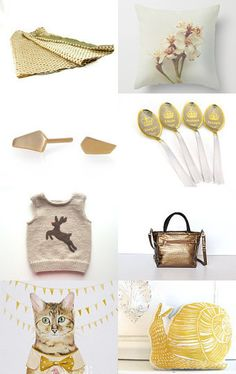 GOLDEN AGE by SHUNA on Etsy--Pinned with TreasuryPin.com
