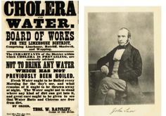 """John Snow was known as the father of modern epidemiology. He did """"shoe-leather epidemiology"""" where he visited each and every house to figure out which water company was the cause of the Cholera infected water."""
