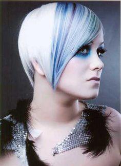 #hair #blue #elumen