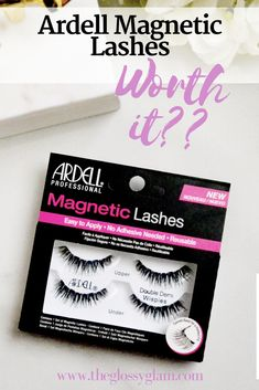 Ardell Magnetic Lashes | sharing my thoughts on these new magnetic lashes from Ardell on The Glossy Glam. Are they worth the cost??