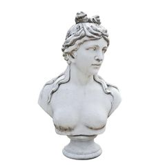 Marble Bust Of Aphrodite Classical Greek European Statue Marble Bust, Greek Statues, Male Torso, Stone Sculpture, Late 20th Century, Horse Head, Animal Sculptures, Aphrodite, Photo And Video