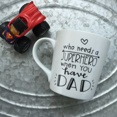 Who Needs A SuperHero When You Have Dad  by MorningSunshineShop