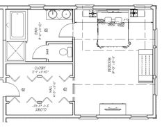 Kitchen delightful kitchen floor plans with dimensions 20 for Master bedroom layout