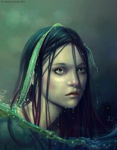 Naiad by Catherine Nodet In Greek Mythology, the Naiads were a type of nymph… Greek And Roman Mythology, Greek Gods, Magical Creatures, Sea Creatures, Types Of Nymphs, Water Nymphs, Merfolk, Gods And Goddesses, Deities