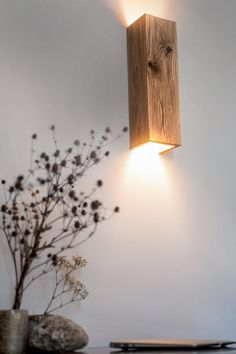 Handmade Lamps, Handmade Home Decor, Home Decor Lights, Wooden Lamp, Interior Lighting, Rustic Wood, Decoration, Sconces, Wooden Chandelier