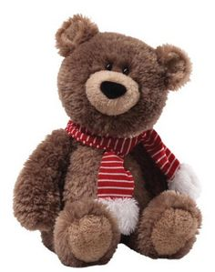 Snuffy Snugglebottoms is the Gund 2013 Holiday Bear