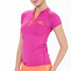 Howzit Top Lycra anti UV avec col zippé Nylons, Sports Nautiques, Sailing Gear, Couture, Polo Shirt, Athletic, Zip, Paddle, Mens Tops