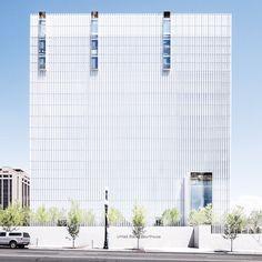 United States Courthouse; Salt Lake City, Utah, by Thomas Phifer and Partners, and Naylor Wentworth Lund Architects