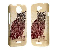 Owl Phone Case HTC One X case htc one s htc amaze 4g by hanaoutlet, $16.50