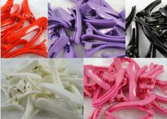 50pcs Colorful Solid Alligator Hair Clip Teeth Plastic 45mm >>> You can get additional details at the image link.(This is an Amazon affiliate link and I receive a commission for the sales)