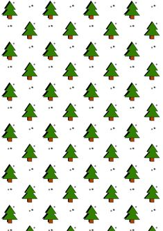 FREE printable woodland themed Holiday pattern paper