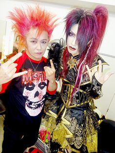 On the right is KISAKI (Syndrome, LIN)
