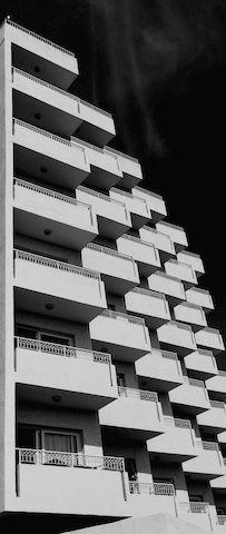 #achitecture and #urbangeometry in #blackandwhite