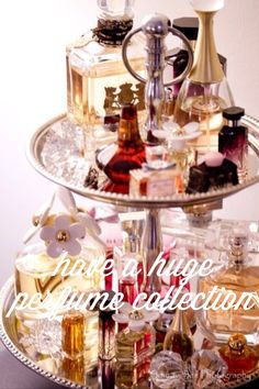 my perfume collection is running low.. dont care what perfumes it is, as long as it smells good im happy