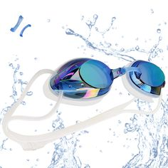 95fa317ab21 VETOKY Gafas de Natación Antiniebla Gafas para Nadar Protección UV sin  Fugas para Adultos Y