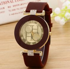 Dámské hodinky silikonové rudé – dámské hodinky Na tento produkt se  vztahuje nejen zajímavá sleva 749d236e0e6