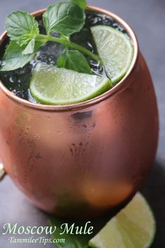 How to make a Moscow Mule