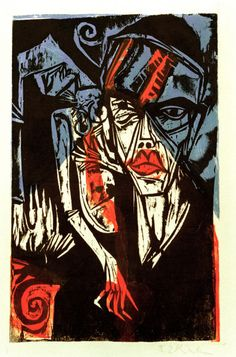 Ernst Ludwig Kirchner - Chamisso, Peter Schlemihl