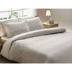 Brielle Bamboo Twill Cascade 3-piece Down Alternative Comforter Set