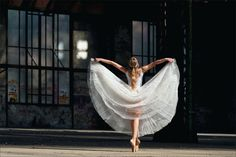 I don't want people who want to dance, I want people who have to dance.---George Balanchine