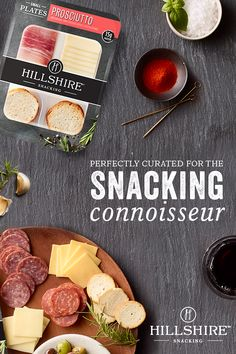 Take snacktime into your own hands with a Hillshire Snacking Small Plate. Elevate your snack with Prosciutto, Natural White Cheddar Cheese, and Toasted Rounds. Crockpot Recipes, Chicken Recipes, Cooking Recipes, Appetizer Recipes, Dessert Recipes, Appetizers, Dinner Recipes, Desserts, Charcuterie And Cheese Board