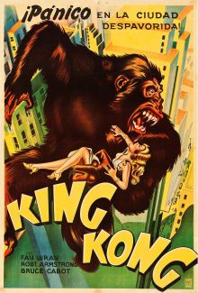 """Movie Posters:Horror, King Kong (RKO, 1933). Argentinean Poster (29.25"""" ..."""
