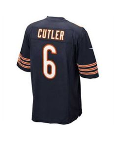 Nike Men's Jay Cutler Chicago Bears Limited Jersey - Blue M