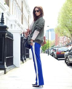 How To Style Tailored Track Pants