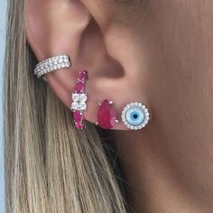 Bling Bling, Girls Accessories, Jewelry Accessories, Ear Piercings, Bridal Jewelry, Jewelery, Fashion Jewelry, Diamond, Tattoos