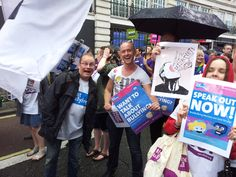 #PrideinLondon2014 (That's director of people and purpose Ross Banford, and head of social action, Stephen Hill)