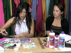 collage pauge art journal video tutorial by traci bautista