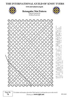 Rectangular Mat Pattern