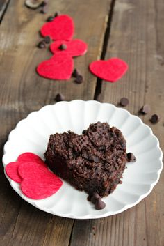 Vegan and Gluten Free Brownies for Valentine's Day!!!