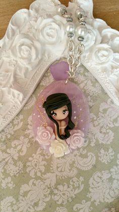 fairy necklace por lapetitedeco en Etsy