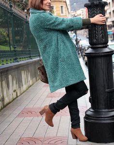 Abrigo de lana...