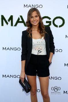 Natalia sanchez, Fashion show by Mango MNG. 2014