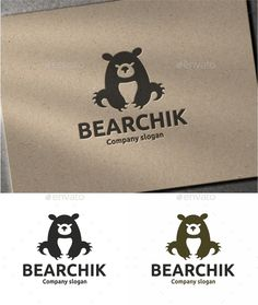 Bear by logobega AI and EPS (Illustrator 10 EPS ) CMYK 100 Scalable Vector Files Easy to edit color / text Ready to print Logo Bear, Polar Bear Logo, Brand Identity Design, Logo Design, Branding Design, Logo Branding, Corporate Branding, Bear Vector, Portfolio Logo