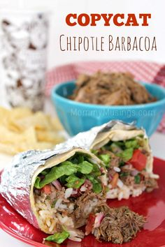 Copycat Chipotle Barbacoa — Beef Recipe found on www.MommyMusings.com