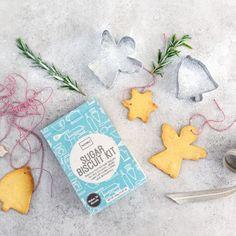 NOMU's Festive Sugar Cookie Kit Festive, Holiday, Christmas, Sugar, Treats, Kit, Cookies, Recipes, Xmas