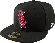 MLB Chicago White Sox negro con escarlata y blanco 59FIFTY gorra ajustada: Amazon.com.mx: Deportes y Aire Libre